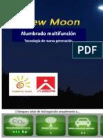 New Moon Alumbrado Multifuncion Solar de LED