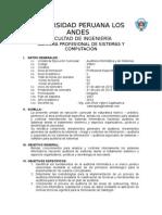 1 Sílabo Auditoria Informatica y Sistemas