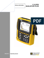 Chauvin Arnoux Ca8335 User Manual