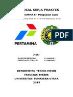 PROPOSAL KERJA PRAKTEK PT PERTAMINA Basri & Febri.doc