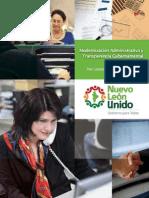 Pe Modernizacion Administrativa Transparencia Gubernamental