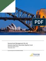 Long Short Australian Equities
