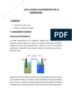 Dependencia de La Fuerza Electromotriz Con La Temperatura Fico II