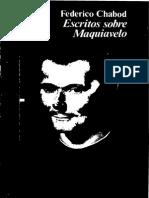 [Libro] Chabod - Escritos Sobre Maquiavelo