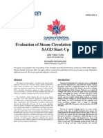 Evaluation of SteaEvaluation of Steam Circulation Strategies for SAGD Startupm Circulation Strategies for SAGD Startup