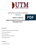 Introduction to Electrical Engineering Project Proposal