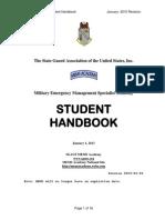 MEMS Student Manual 2015