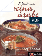 Pasion Por La Cocina Arabe - Chef Abdala