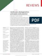 Yang and Rannala 2012 Molecular Phylogenetics.