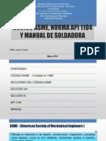 SOLDADURA CODIGO ASME