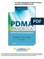 Pdma Handbook