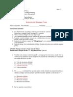 Respuesta Examen Corto 1 de Valor II