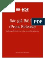 BRVN Press Release Proposal