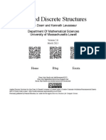 Applied Discrete Structures