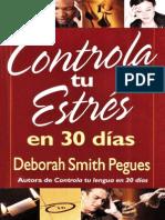 Controla Tu Estres Deborah Smith E30D