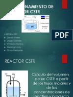 Diseño de Un Reactor Cstr