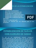 Objetivos de La Estabilizacion