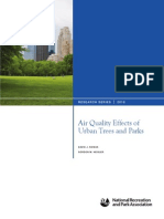 Air Quality Effects of Urban Trees and Parks
