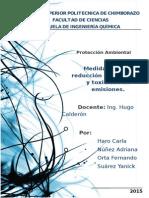PRODUCCION MAS LIMPIA MEDIDAS DE REDUCCION DE EMISIONES