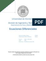 Variación de parámetros para E.D. Orden 3
