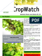 Adelaide Hills Crop Watch 160110
