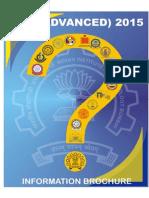 Information Brochure JEE Adv 2015 Ver 2.2!29!12 2014