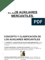 Vi. Los Auxiliares Mercantiles.