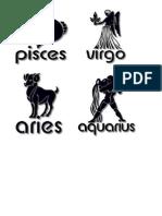 Zodiac Sign2