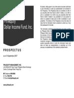 PE Dollar - Prospectus