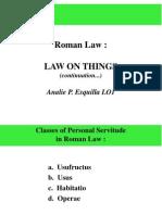 Roman Law2 presentation