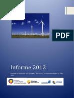 Informe de Factor de Emision de CO2 2012