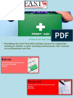 Emergency First Aid Training Courses