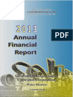 2013 AFR Water Districts Volume II-B