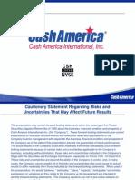 Cash America Presentation