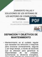 Curso Mantenimiento Fallas Soluciones Motores Combustion Interna