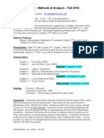AE280 Fall 2014 Syllabus& ExamSchedule