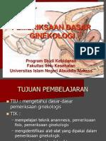 pemeriksaan ginekologi kebidanan