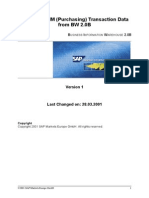 Extracting MM Purchasing Data Into SAP BW
