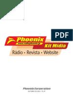 Rádio Phoenix Kit Mídia 2014