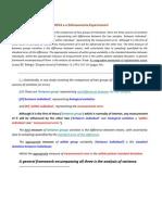 ANOVA e o Delineamento Experimental (1)