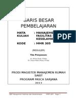 GBPP Manajemen Fasilitas Dan Keselamatan A