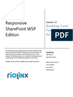SharePoint 2013 Responsive Solutions
