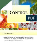 Control management