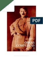 Adolf Hitler - Obras Completas, Tomo I