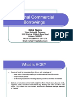 External Commercial Borrowings- A Presentation