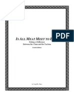 Is All Meat Meet to Eat? (4th Edition)