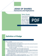 Pledge of Shares- A Presentation