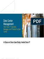 Cisco IT Case Study Data Center Management Print