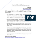 External Commercial Borrowings- Amendments