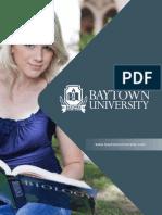 Baytown University Official Brochure